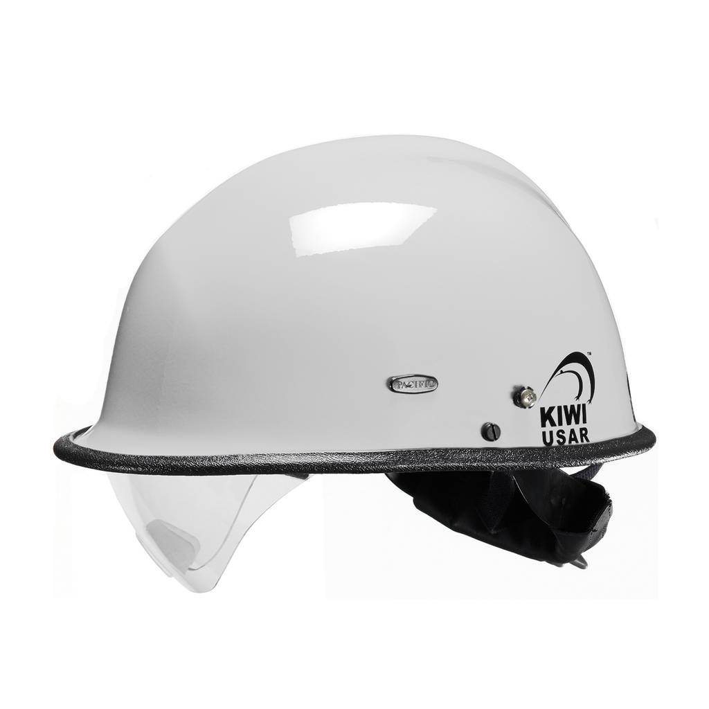 PIP 804-3405 PACIFIC R3V4 KIWI USARW/EYE VISOR, WHITE, 3-PT NOMEX CS,NFPA 1951 LIKELY SUBJECT TO TAX