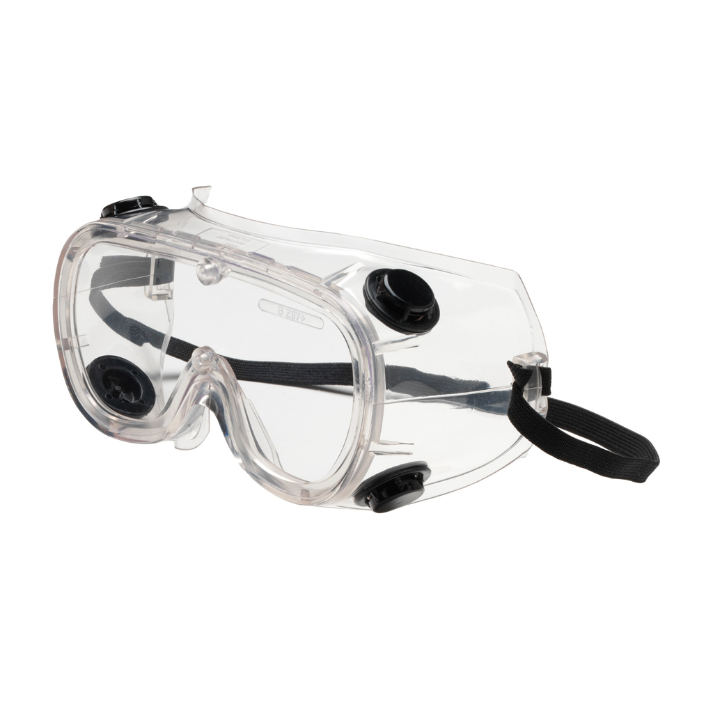PIP 248-4401-400 BASIC-IV GOGGLE,CLR LENS, CLR PVC FRM, ELASTICSTRAP, AF/AS LENS LIKELY SUBJECT TOTAX