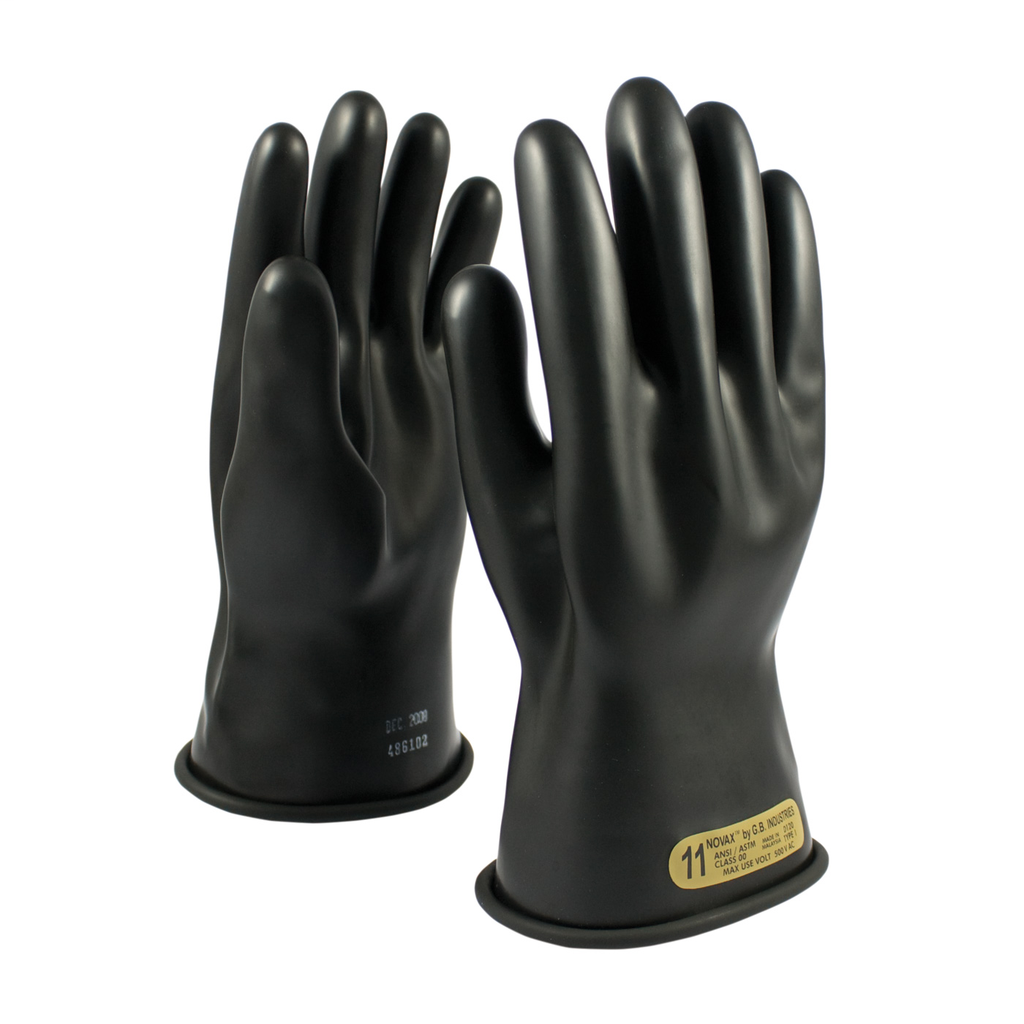PIP 150-00-11/7 NOVAX INSULATINGGLOVE, CLASS 00, 11 IN., BLK.,STRAIGHT CUFF LIKELY SUBJECT TO TAX