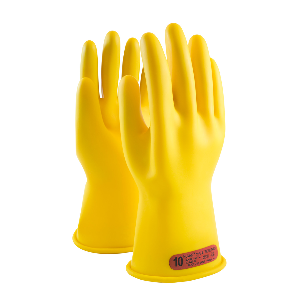 PIP 170-0-11/12 NOVAX INSULATINGGLOVE, CLASS 0, 11 IN., YLW.,STRAIGHT CUFF LIKELY SUBJECT TO TAX