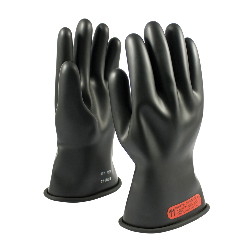 PIP 150-0-11/7 NOVAX INSULATINGGLOVE, CLASS 0, 11 IN., BLK.,STRAIGHT CUFF LIKELY SUBJECT TO TAX