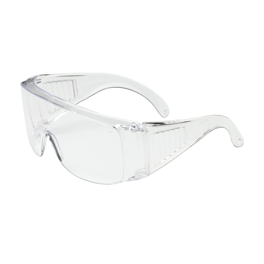 PIP 250-99-0900 Clear Frame/Lens Anti-Scratch Coated Over the Glass Safety Glasses