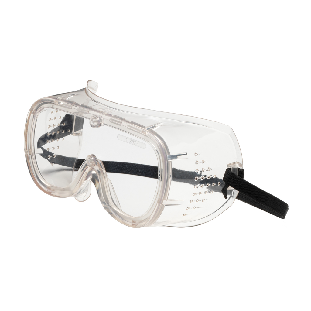 PIP 248-4400-400 BASIC-DV GOGGLE,CLR LENS, CLR PVC FRM, ELASTICSTRAP, OTG, AS/AF LIKELY SUBJECT TOTAX