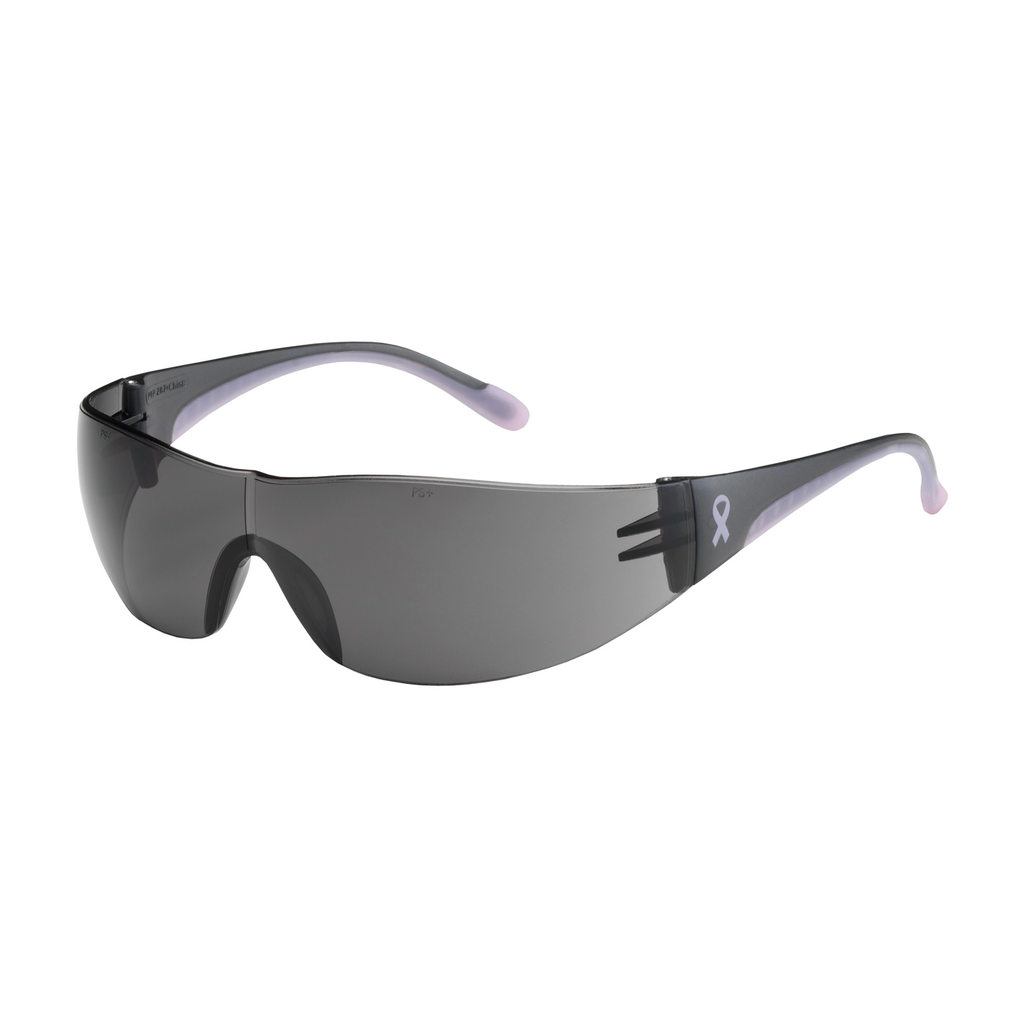 PIP 250-10-5501 EVA, GRY AS LENS,GRY/PINK TMPLS, RUBBER TMPL END,MOLDED BRIDGE LIKELY SUBJECT TO TAX