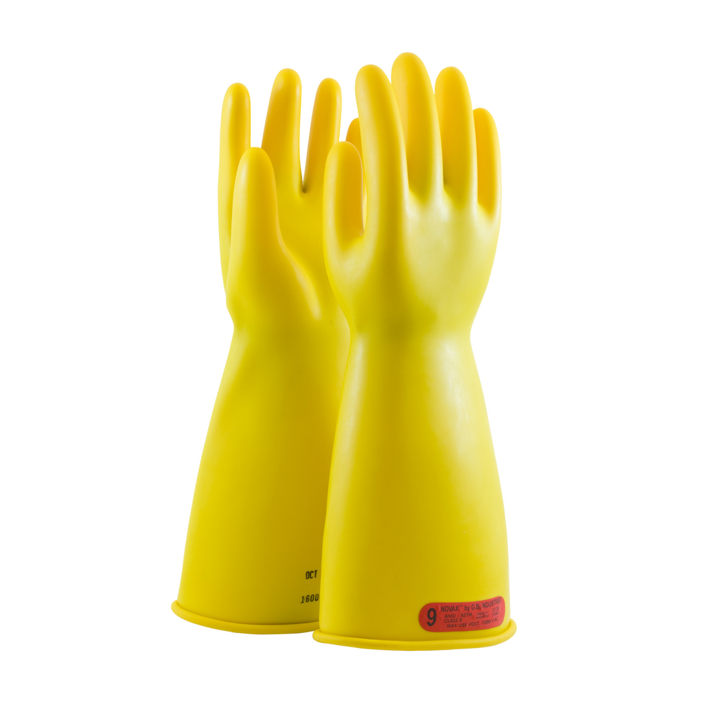 PIP 170-0-14/10 NOVAX INSULATINGGLOVE, CLASS 0, 14 IN., YLW.,STRAIGHT CUFF LIKELY SUBJECT TO TAX