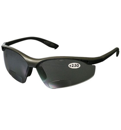 PIP 250-25-0125 MAG READERS, GRY ASLENS, +2.50 , BLK, NYLON FRM LIKELYSUBJECT TO TAX