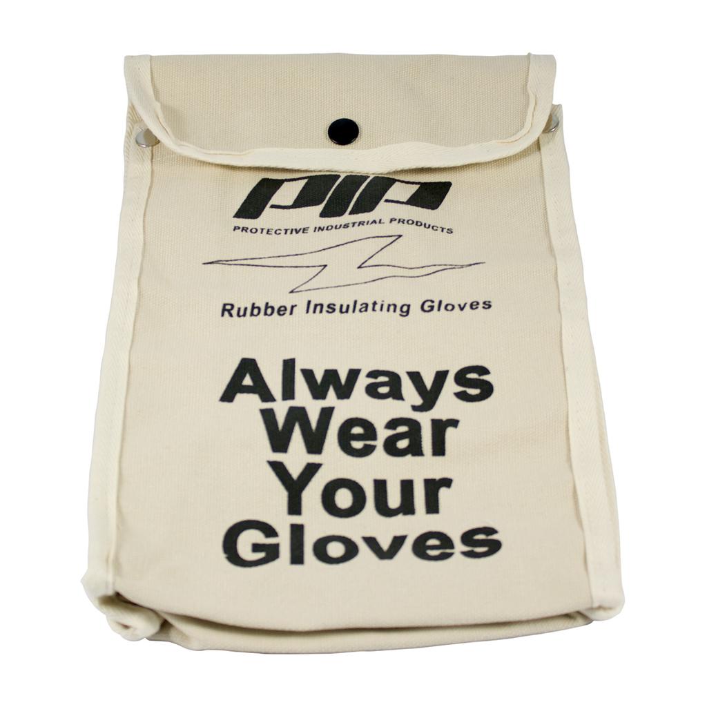 PIP 148-6011 11 Inch Natural Canvas Gloves Storage Bag