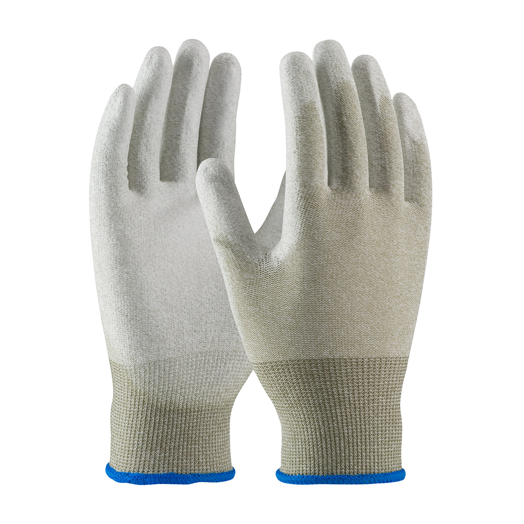 PIP 40-6415/L NYLON AND COPPERFIBER YARNS, WHT. PU COATED PALMAND FINGER TIPS LIKELY SUBJECT TOTAX