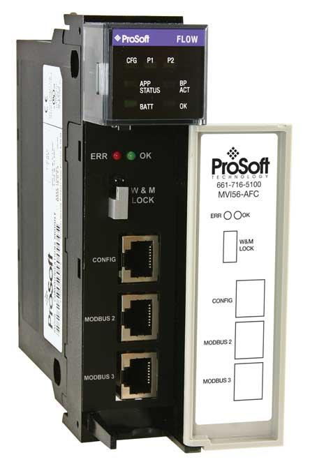 Gas & Liquid Flow Computer for ControlLogix