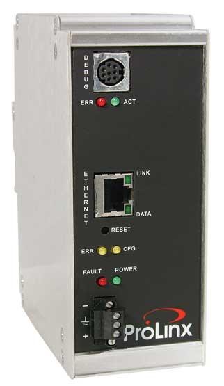 Modbus TCP/IP to EtherNet/IP Gateway