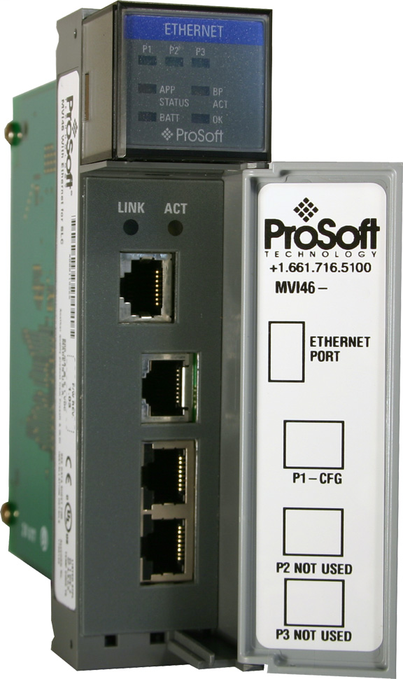 Modbus TCP/IP Client Server Network Interface Module for SLC
