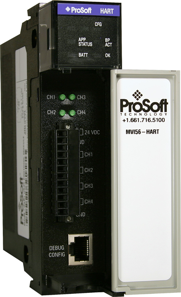 PROSOFT MVI56-HART HART MULTI-DROPCOMMUNICATION MODULE-4 CHANNEL