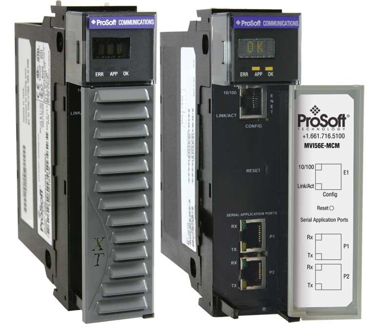 PROSOFT MVI56E-MCMXT MODBUSMASTER/SLAVE SERIAL ENHANCEDCOMMUNICATION MODULE, EXTREME TEMP