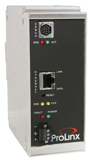 EtherNet/IP to BACnet/IP Client Gateway
