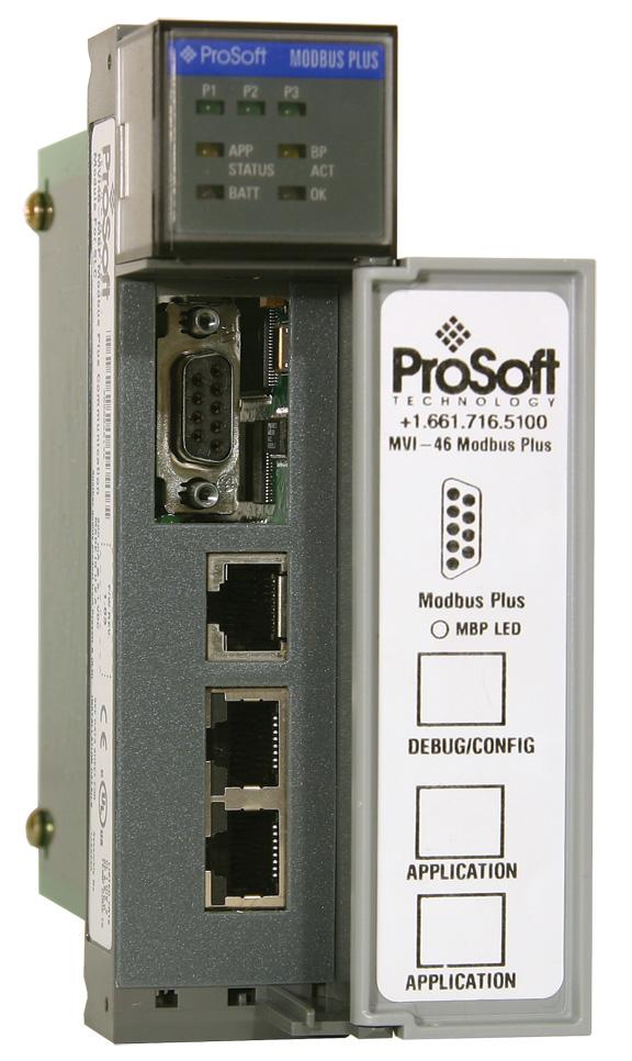 Modbus Plus Dual Port Network Interface Module for SLC