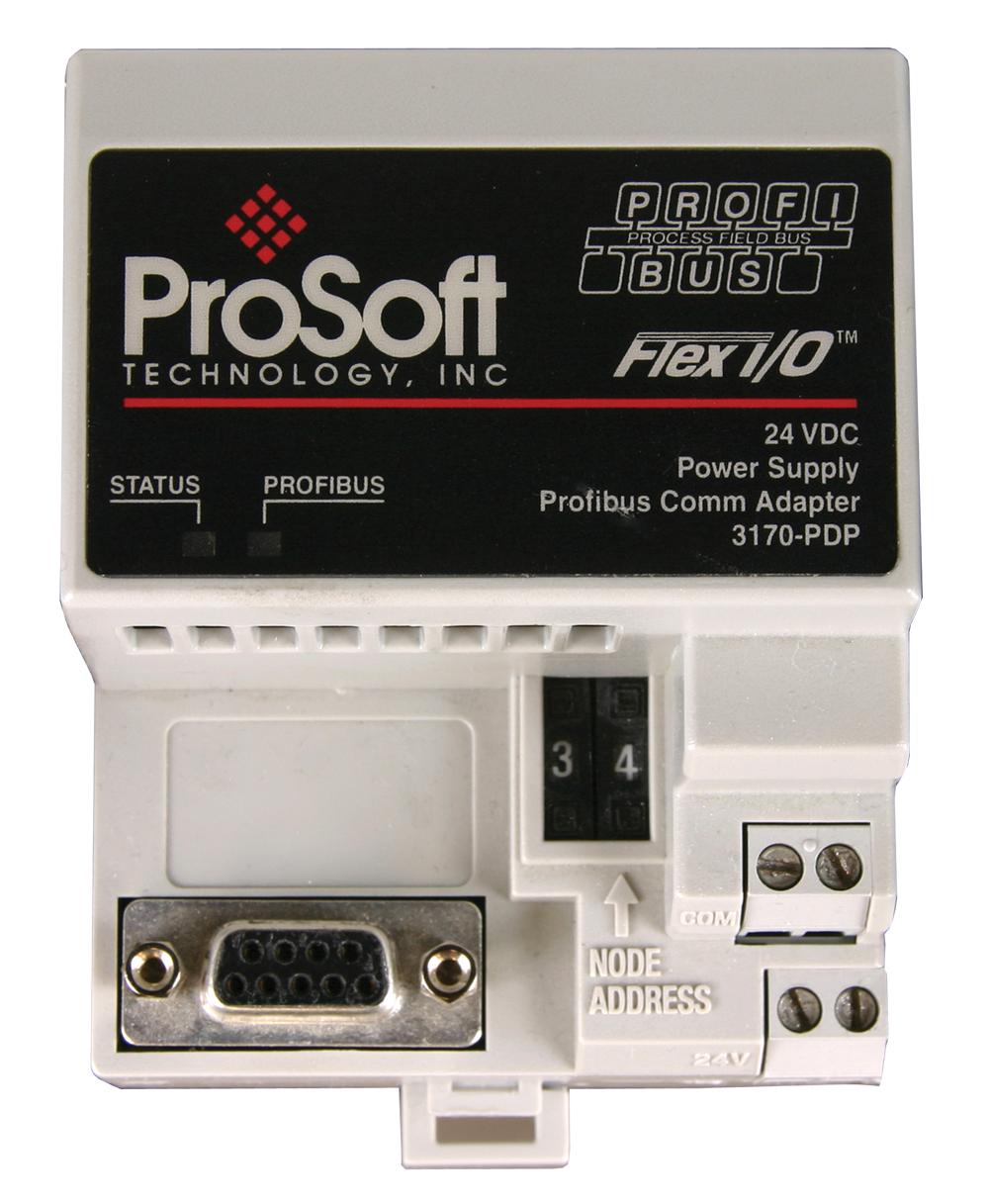 PROFIBUS Network Interface Adapter for FLEX I/O