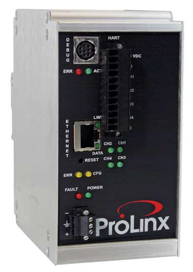 PROSOFT 5207-MNET-HART MODBUSTCP/IP TO HART MULTIDROP - 4CHANNEL