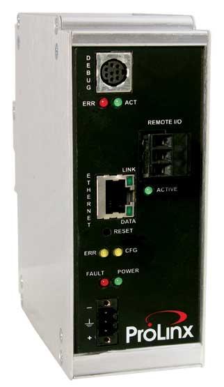 EtherNet/IP to A-B Remote I/O Gateway