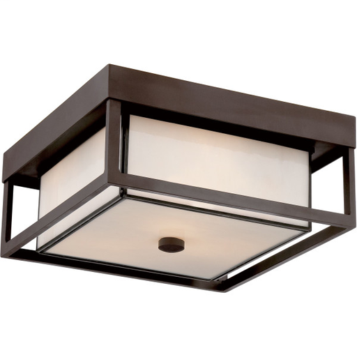 """QUO PWL1613WT 13"""" X 6"""" 3-60A OUTDOOR FLUSH"""