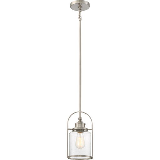 QUO QPP2781BN PICCOLO PENDANT BN BRUSHED NICKEL