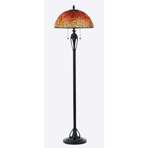 QUO TF135FBC (3)75W A19 FLOOR LAMP