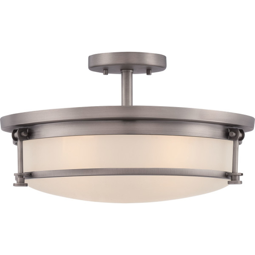 QUO SLR1716AN LARGE SEMI FLUSH MOUNT