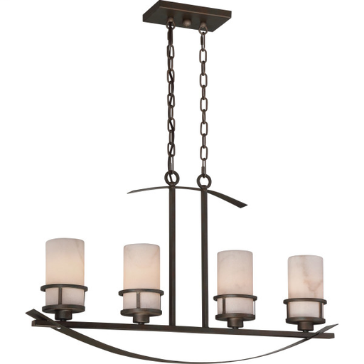 QUO KY433IN 4LT 100W CHANDELIER