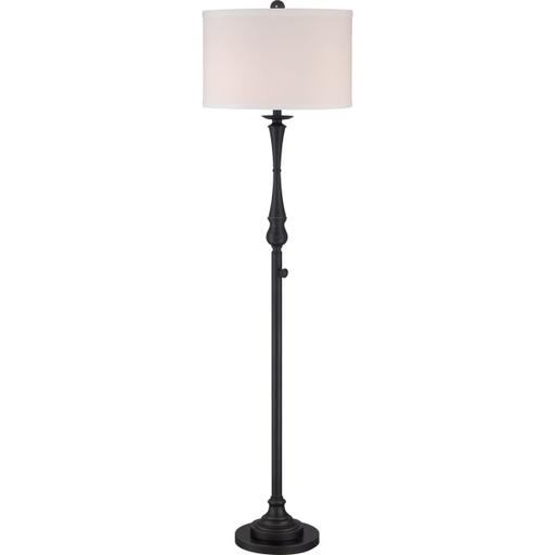 QUO VVAM9362PN 75W INC FLOOR LAMP