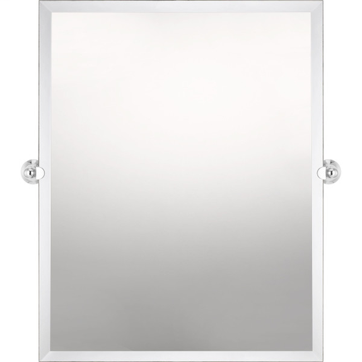 QUO QR3328 QUOIZEL REFLECTIONS MIRROR POLISHED CHROME