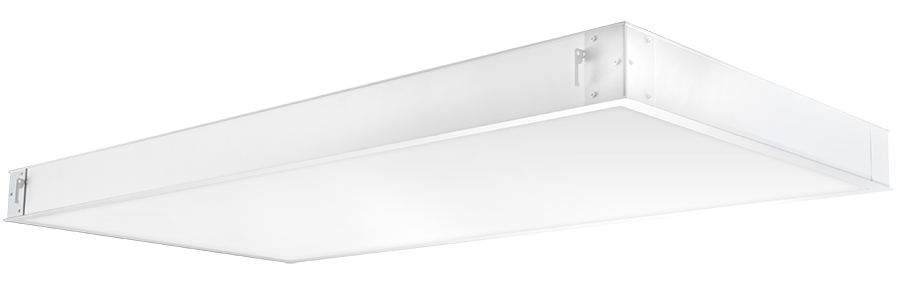 RAB Lighting,PANEL2X4-59N/D10/E2,LPANEL 2X4 59W 277 EM 4000K