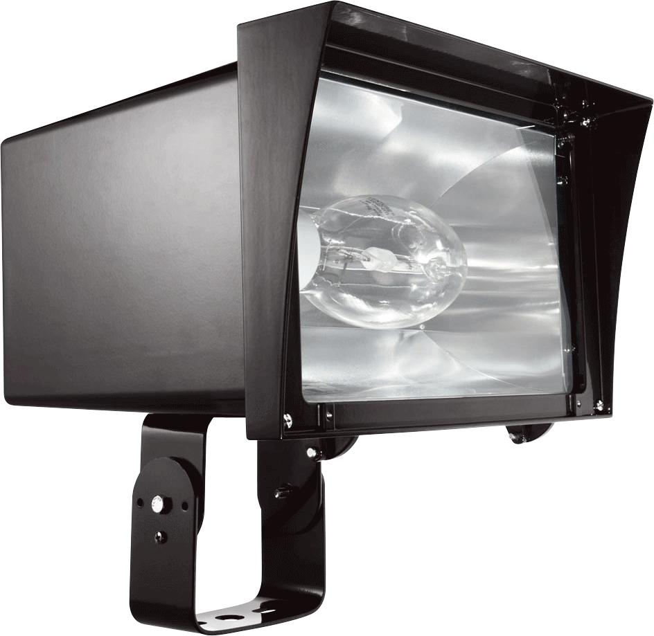 RAB FZH400PSQ FLOODZILLA 400W MH HPF PULSE START + LAMP TRUNNION BZ