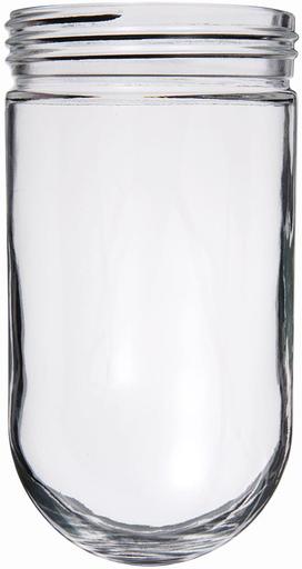 RAB GL100 GLOBE GLASS 100 SERIES CLEAR INDIVIDUALLY BOXED