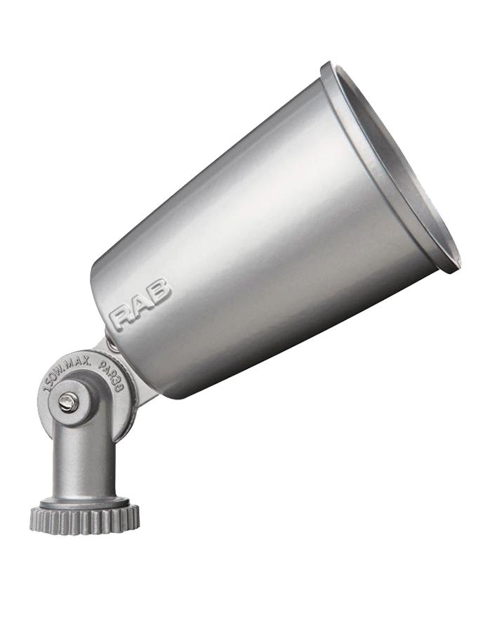 RAB R90S WP SLVR PAR LAMPHOLDER
