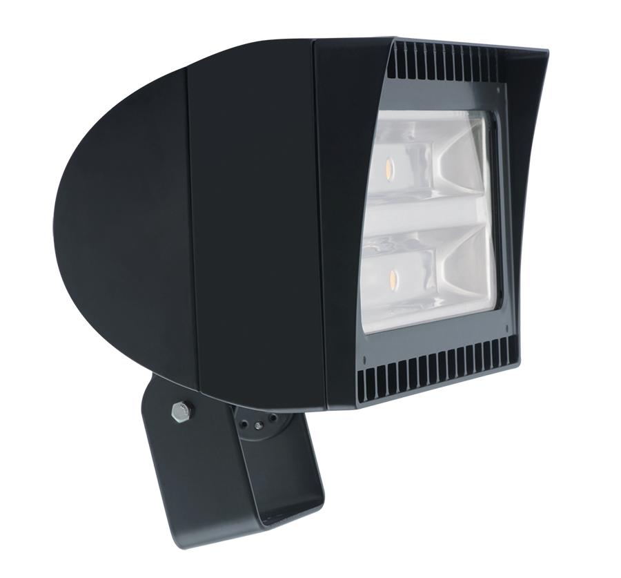 RAB FXLED105T FLEXFLOOD 105W COOL LED TRUNNION BRONZE