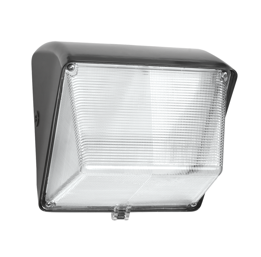 RAB WP1LED30 WALLPACK 30W COOL LED 120-277V WITH GLASS LENS BRONZE