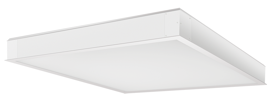 RAB Lighting,PANEL2X2-52YN/D10,LPANEL 2X2 CEILING 52W 3500K DIMMABL