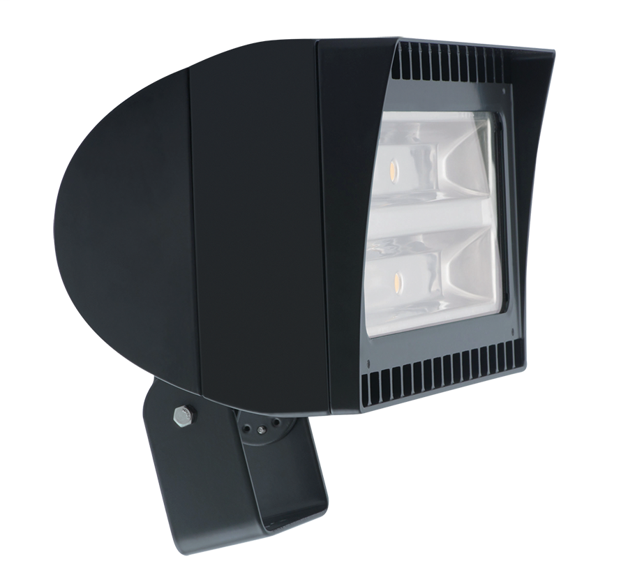RAB FXLED78T LED FLOODLIGHT 78W LED COOL LIGHT(5100K) TRUNNION MOUNT BRONZE