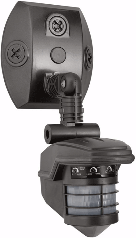 RAB STL360 120 Volt 1000 W 360 Degrees 3 x 4-3/4 Inch Bronze Outdoor Lighting Sensor