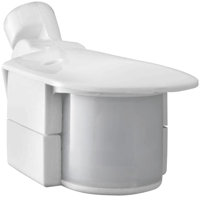RAB SMS500W 120 Volt 180 Degrees 4 x 1 Inch White Outdoor Lighting Sensor