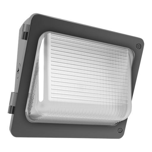 W34 Wallpack 30W,3100Lm LED, 120-277V, 3000k, 80 CRI, Bronze