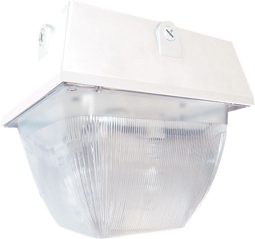 VANDALPROOF 12 Inch  X 12 Inch  CEILING 150W MH QT WHITE