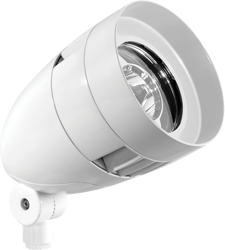 LFLOOD 13W COOL LED BULLET WITH  HOOD AND  LENS WHITE