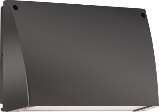 Slim Wallpack 62W, 3000k, LED 120V photocell, Bronze Wp3