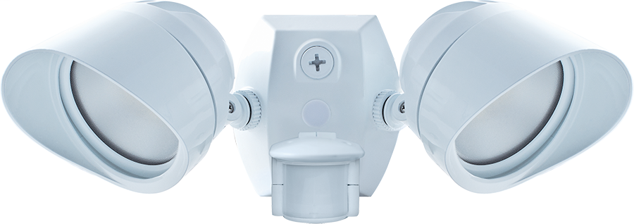 RAB SMSBULLET2X12NW 24 W 120 Volt 14-1/2 x 6 Inch Neutral White Die-Cast Aluminum LED Floodlight Fixture