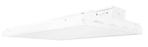 ^ Rab ARBAY2-125 White 125 Watt LED Linear High Bay Fixture, 5000K, 84 CRI, 17,462 Lumens, 50,000 Hour L70 Lifespan, Damp Location, DLC Listed (24.45 x 17.27 x 3.77 Inch LxWxD) (obsolete replaced by ARBAY2-120)