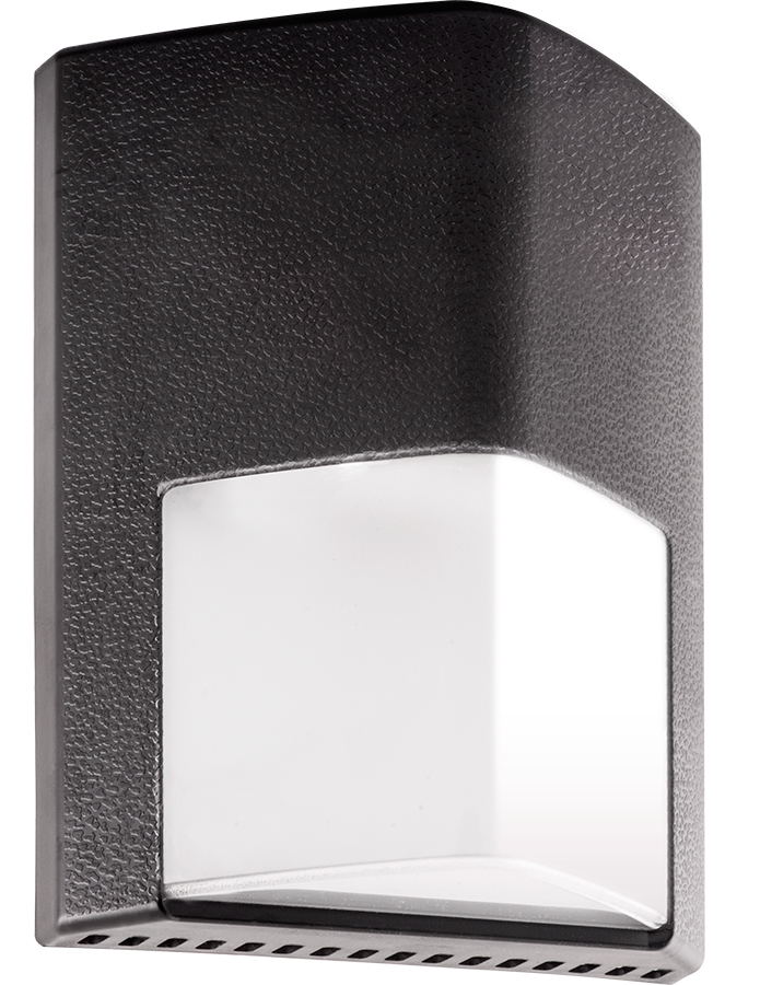 RAB ENTRA12 12 W 120/208/240/277 Volt 6 x 7-3/4 x 3 Inch Cool Bronze LED Wall Pack