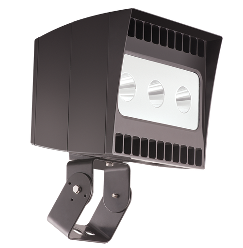EZFLOOD 78W COOL LED 3X3 TRUNNION 3 X 26W Bronze