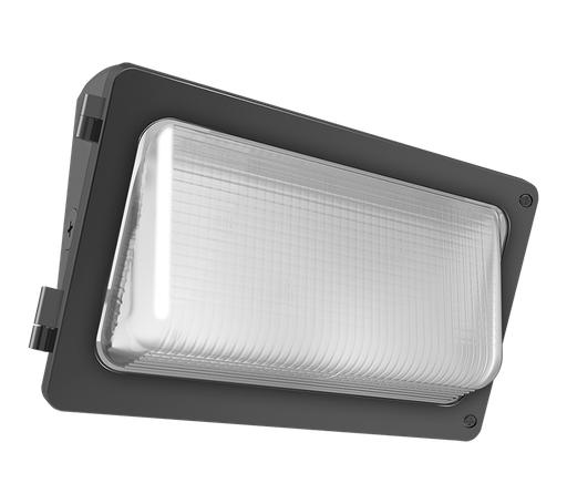 W34 Wallpack 69W,7200Lm LED, 120-277V, 3000k, 80 CRI, Bronze
