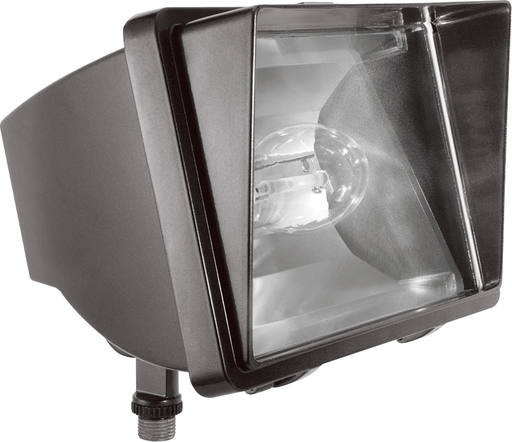 FUTURE FLOOD 100W HPS 120V NPF AND  LAMP BRONZE