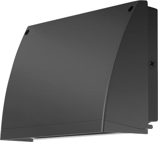 Slim Wallpack 57W,Full Cutoff, 5000k, LED 120V photocell, Bronze Wp2